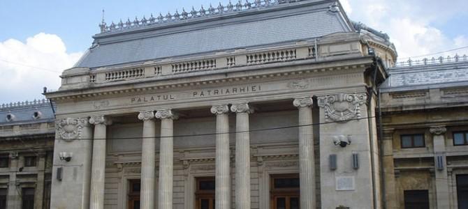 BUCUREŞTI: Palatul Patriarhiei