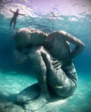 Cea mai mare sculptură subacvatică din lume