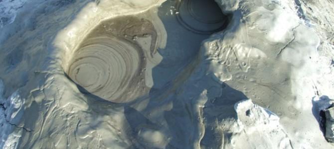 BUZĂU: Vulcanii Noroioşi