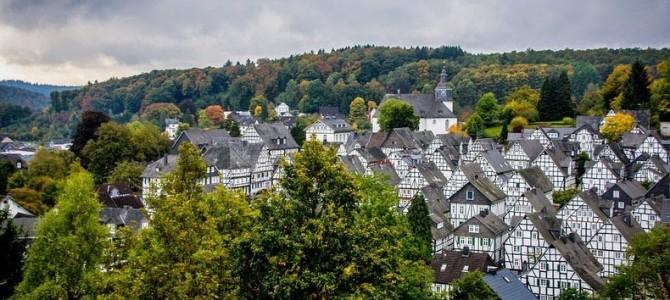 Freudenberg: casele din cadre de lemn