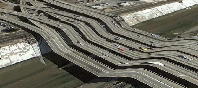 Suprarealista lume Google Earth a lui Clement Valla