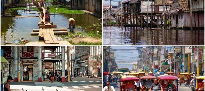 Iquitos, cel mai mare oraş din lume în care nu poţi ajunge pe cale rutieră