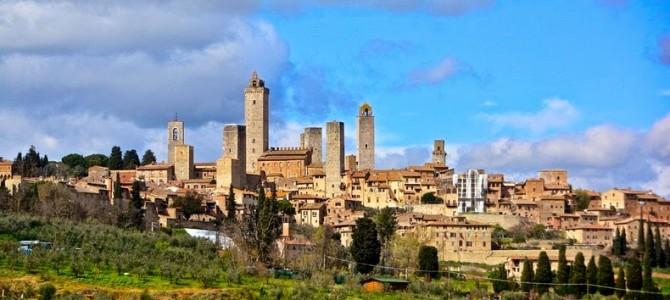 Zgârie-norii medievali din San Gimignano