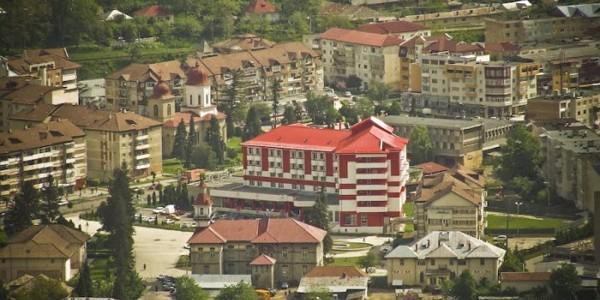 BACĂU: Oraşul staţiune Târgu Ocna