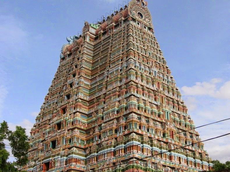 Templul Srirangam3