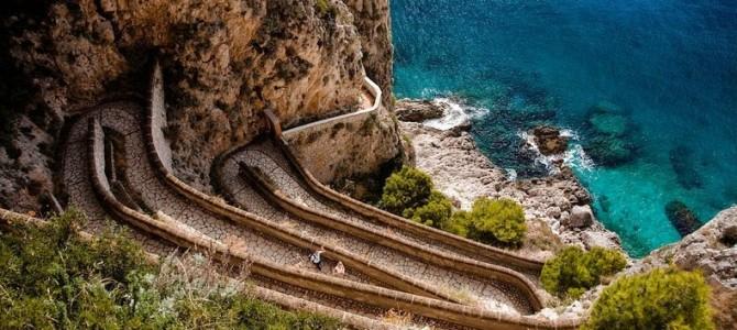 Via Krupp din Insula Capri