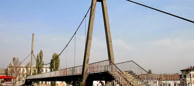 Podul pe uscat al Serbiei: puntea fără râu
