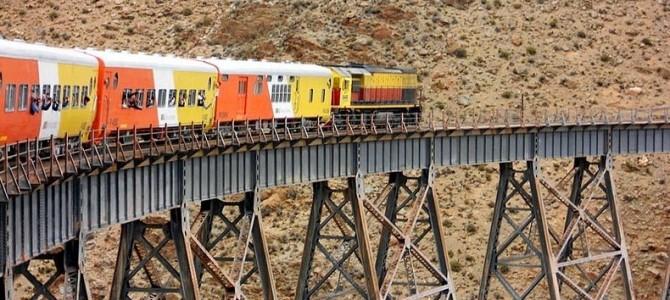 Trenul argentinian spre nori