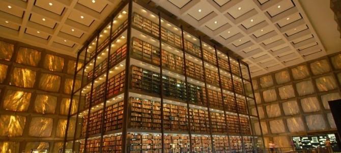 Biblioteca de cărţi rare şi manuscrise Beinecke