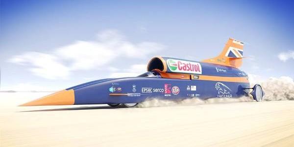 Automobilul supersonic Bloodhound este pregătit pentru 1.609 km/h