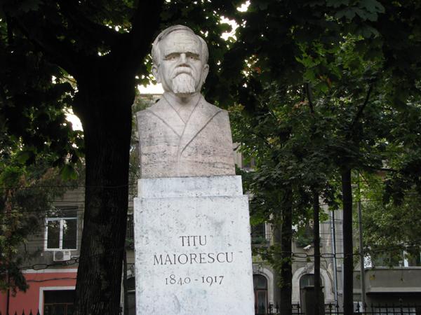 Bust_Titu_Maiorescu