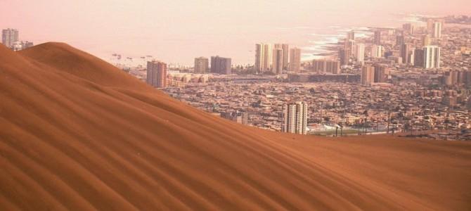 Dealul Dragonului din Iquique, cea mai mare dună urbană din lume