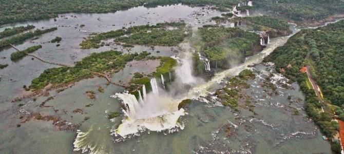 Cascada Guaira: o minune naturală inundată de un lac artificial