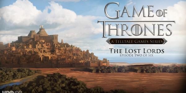 """""""The Lost Lords"""", cel de-al doilea episod al seriei """"Urzeala tronurilor"""""""