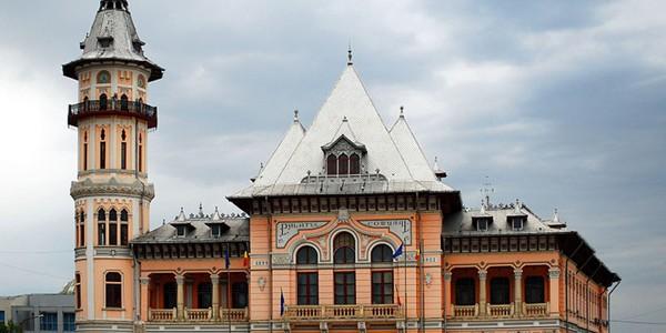 BUZĂU: Palatul Comunal