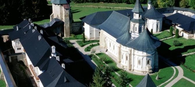 Mănăstirea Putna, necropolă voievodală