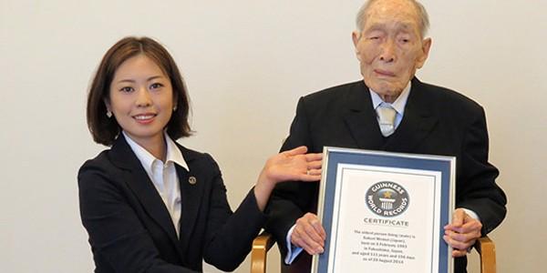 Cel mai vârstnic bărbat al planetei a împlinit 112 ani