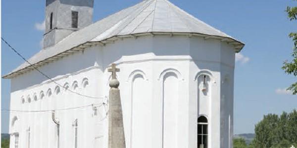 Biserica din Drăgoeşti, locul unde a fost botezat Mihai Viteazul