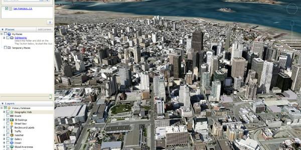 Versiunea Google Earth Pro poate fi descărcată gratuit