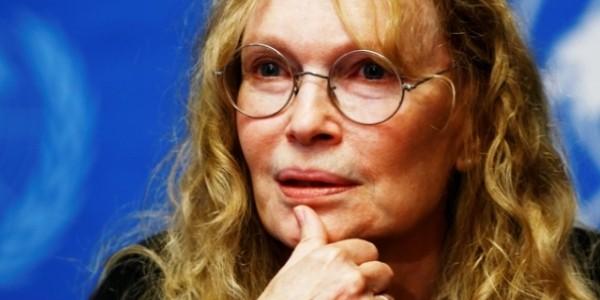 Actriţa Mia Farrow a împlinit 70 de ani
