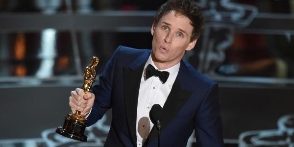 Eddie Redmayne: Oscar pentru cel mai bun actor în rol principal