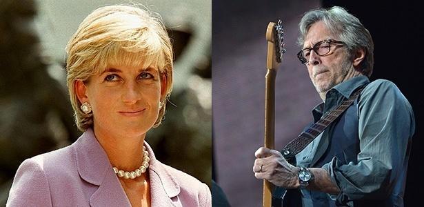 O biografie a lui Eric Clapton dezvăluie aventurile sale cu Lady Di