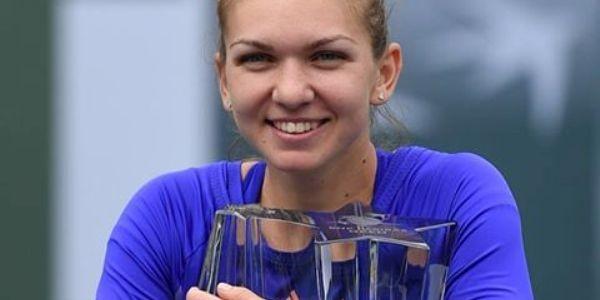 Simona Halep a câştigat turneul de la Indian Wells