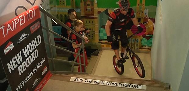 3.139 trepte urcate pe bicicletă