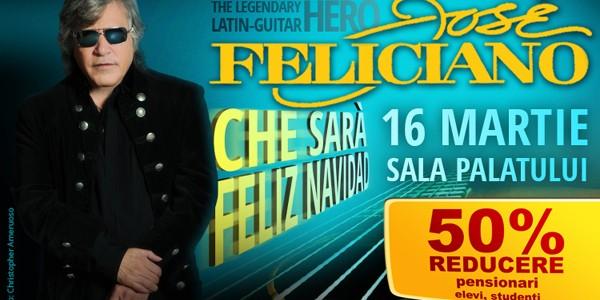Concert Jose Feliciano la Bucureşti