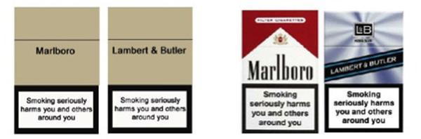 Ambalajul neutru, lovitură pentru producătorii de ţigări