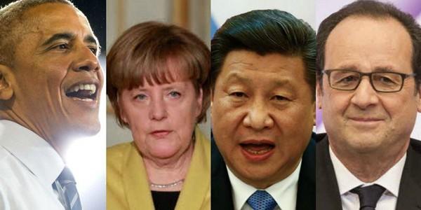 Cât câştigă liderii primelor 12 puteri economice ale lumii?