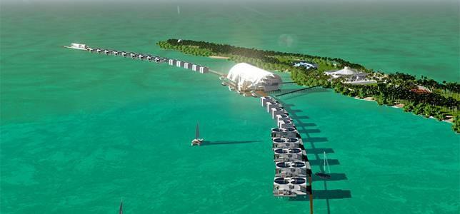 Leonardo DiCaprio îşi transformă insula într-o staţiune eco de lux