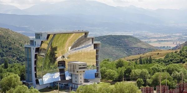Cel mai mare cuptor solar de la Odeillo