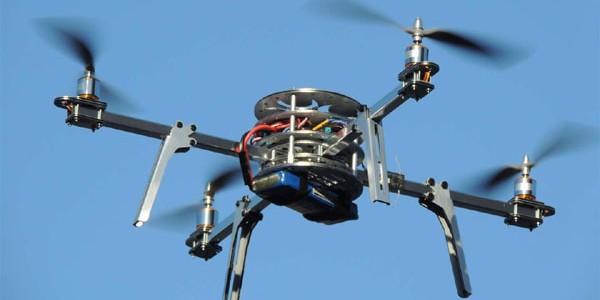 Drone cu piper pentru dispersarea manifestanţilor