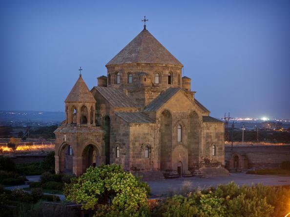 Cathédrale et les églises d'Etchmiadzine et le site archéologique de Zvarnotz
