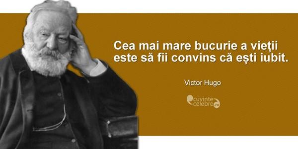 Victor Hugo, cel mai mare fenomen al literaturii franceze