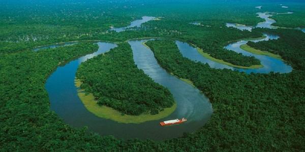 Amazon – fluviul cu cel mai mare debit hidrografic