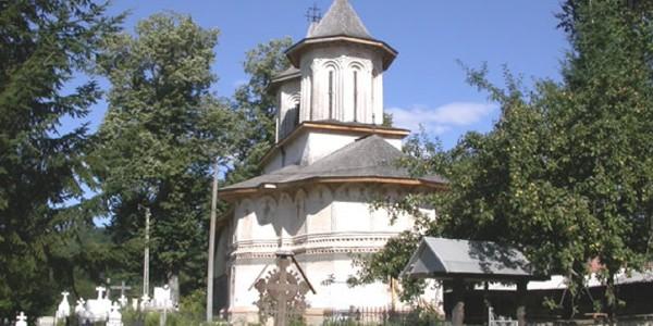 Biserica potecaşilor din Urşani, locul unde este înmormântat I.G. Duca