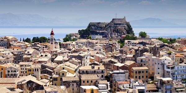 Oraşul istoric Corfu