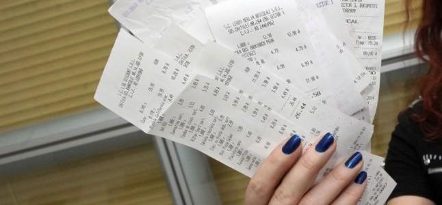 Bonurile câştigătoare la extragerea Loteriei bonurilor fiscale sunt cele din 30 decembrie cu o valoare de 142 de lei