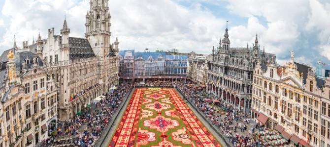 Covorul de flori din Bruxelles