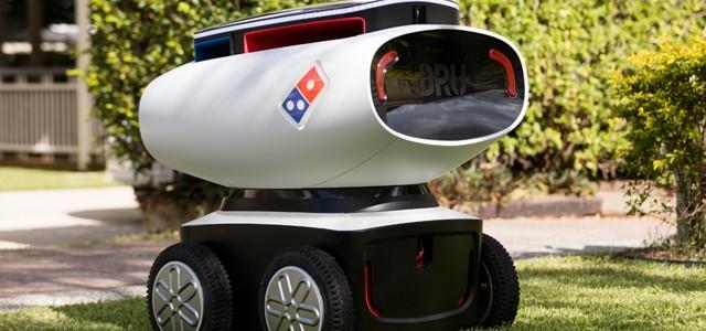 Robotul care livrează pizza la domiciliu