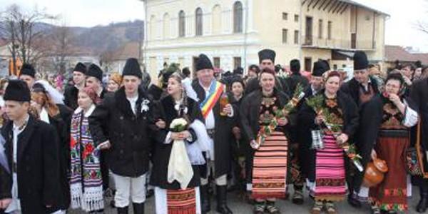 Alaiul nunţilor de pe Bârgău, obicei reluat de Lăsatul secului