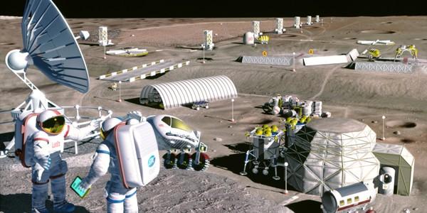 Colonizarea Lunii este posibilă