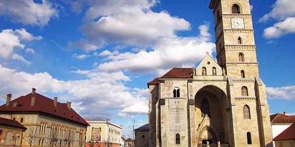 Turnul sudic al Catedralei Romano-Catolice din Alba Iulia