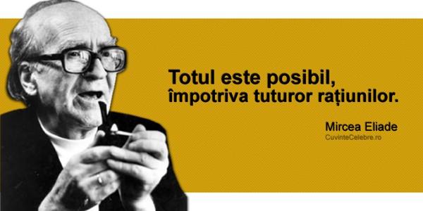 Mircea Eliade, personalitate marcantă a culturii mondiale
