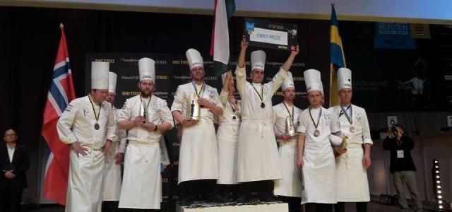 Tamás Széll a câştigat concursul gastronomic Bocuse d'or Europa
