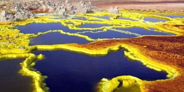 """Danakil, valea """"extraterestră"""" a Pământului"""