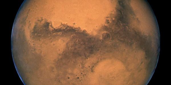 Marte tocmai iese dintr-o eră glaciară