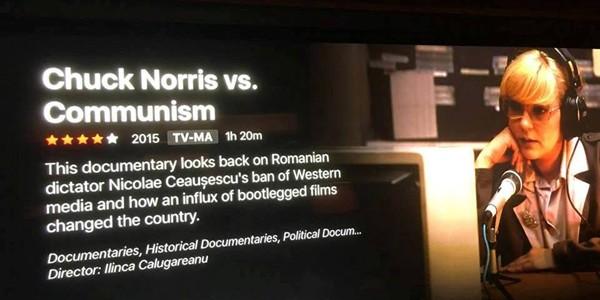 "Tom Hanks recomandă documentarul românesc ""Chuck Norris vs. Communism"""